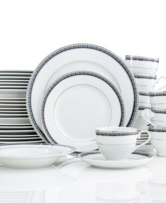 If you\u0027re hosting a dinner party and need more place settings the Mikasa Platinum Crown Cobalt 40-Pc. Set includes enough for 8 people. Sale $219.99  sc 1 st  2locos & Dining Elegantly - 2locos