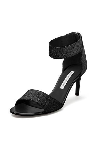 Sandalias  Kinder Glitter Sandal In black