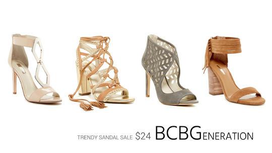 8df58c3fa70a BCBGeneration Camdynn Laser-Cut Heeled Sandal