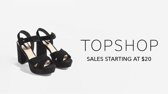 TOPSHOP Sale On Shoes Starting At $20