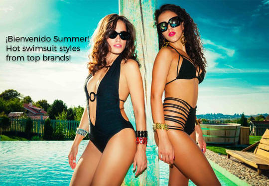 Shop hot swimsuits styles  from top brands!