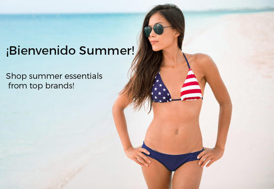 Shop summer essentials from top brands!