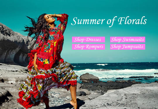 Shop Dresses, Swimsuits, Rompers and Jumpsuits