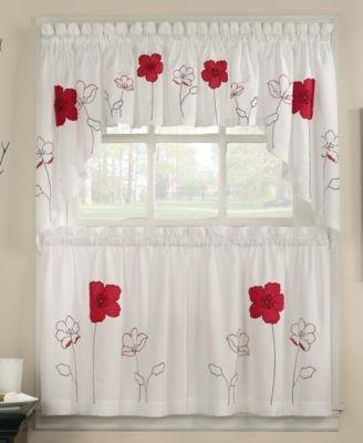 Chf peri window treatments poppy collection 2locos for Macy s articulos de cocina