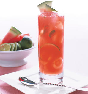 Watermelon-Champagne Cocktail Recipe
