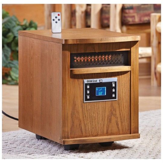 Guide gear wood stove-style infrared electric heater youtube.